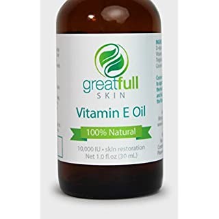 Are You Looking For The Secret To More Healthy And Beautiful Skin? All Natural Vitamin E Oil Heals Your Skin From The Outside In -Helps To Reduce, Prevent, And Reverse The Signs Of Aging On Skin -Perfect For Curing Dry Skin And Problem Areas Such As...