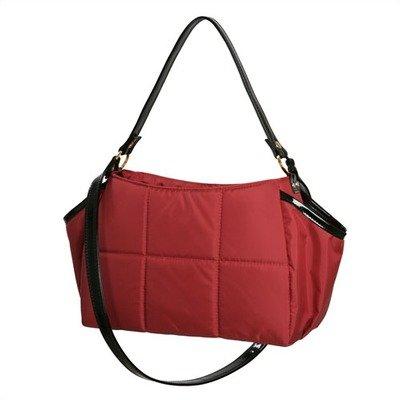 Katie Diaper Bag In Sangria Red front-271470