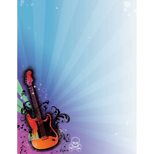 Rock Star 2010 Laser Sheet - 25/Pkg.