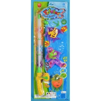 GINMAR 81226 SET PESCA MAGNETICA LUCE