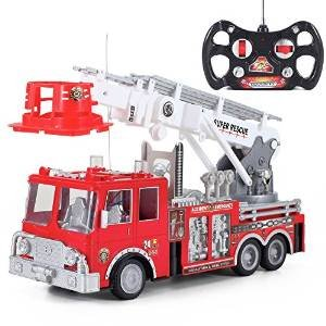 Prextex-13-Rescue-Rc-Fire-Engine-Truck-Remote-Control-Fire-Truck-Best-Gift-Toy-for-Boys-with-Lights-Siren-and-Extending-Ladder