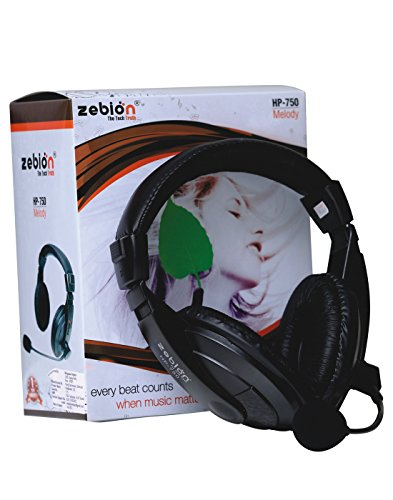 Zebion Melody HP-750 Over Ear Headset