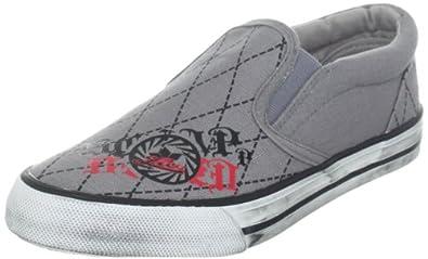 Lico Movie 180198, Unisex - Kinder Sneaker, Grau (grau/schwarz), EU 38