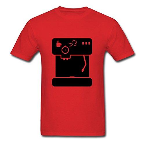 Espresso Machine (1c) Shirt Men Shirt - Cotton Medium T-shirt