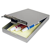 Saunders Recycled Aluminum Redi-Rite Storage Clipboard, Memo Size, 5.75 x 9-Inches (00213)
