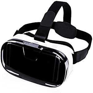 XREXS VR - Virtual Reality Headset 3D VR Glasses Virtual Reality Box for 4~6.5 inch Screen for Smartphones Iphone 6/6s Samsung & Bluetooth Gaming Controller