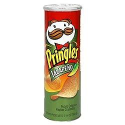 Pringles Potato Chips Jalapeno, 169g