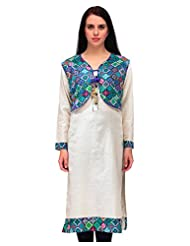 INBORN Women Cotton Round Neck Kurti