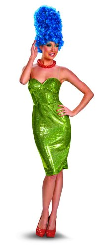 Disguise The Simpsons Marge Glam Deluxe Womens Costume