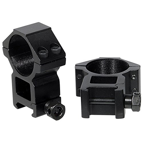 UTG 30mm/2PCs High Profile Picatinny/Weaver Rings (30mm Scope Rings compare prices)