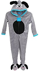 Boys Dog Onesie Fleece Sleepsuit Costume Pyjamas 3 - 13 Years from Primark