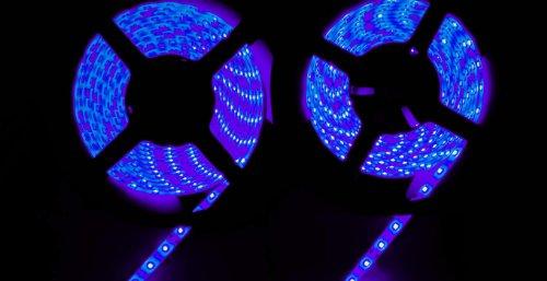 Willlight 2Pcs * 3528Waterproof Led Strip Light- Purple