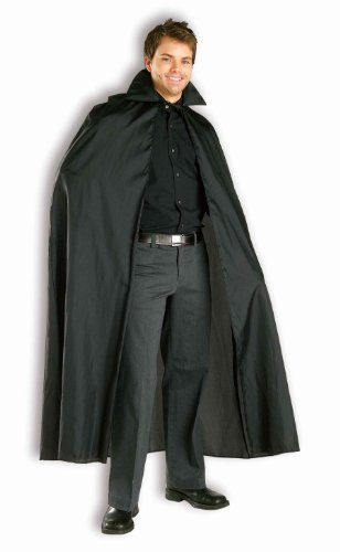 Forum Novelties Women's 56-Inch Long Black Vampire Costume Cape