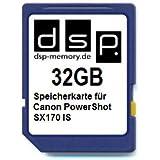 32GB Speicherkarte für Canon PowerShot SX170 IS