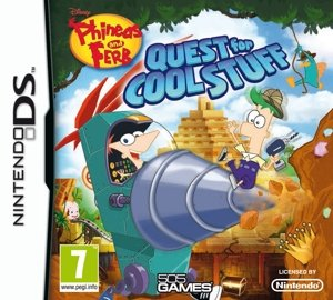 Phineas & Ferb : Quest for Cool Stuff (Nintendo DS)
