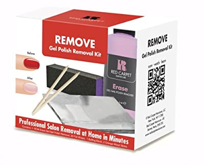 Red Carpet Manicure Removal Kit
