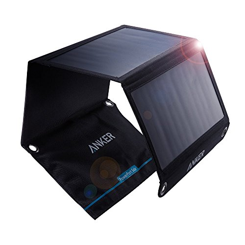 Click to buy Anker 21W 2-Port USB Solar Charger PowerPort Solar for iPhone 6/6 Plus, iPad Air 2/mini 3, Galaxy S6/S6 Edge and More - From only $61.99