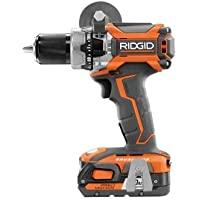 Ridgid R86116K 18 Volt Lithium-Ion 1/2 in. Cordless Brushless Compact Hammer Drill Kit