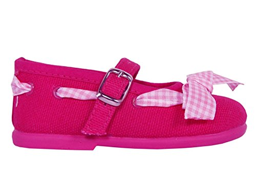 Ballerine per Bambina COTTON CLUB CC0005 FUXIA size-map 20