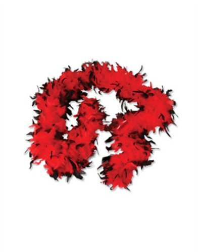 Two Tone Feather Boa Costume Accessory