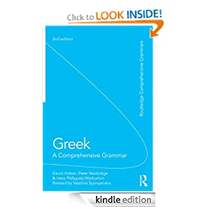 Greek: A Comprehensive Grammar