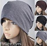 Future Eyes 抗がん剤治療 医療用帽子 ケア帽子 深め ターバン シンプル