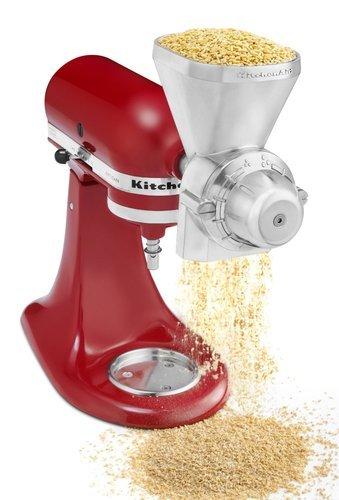 NEW Kitchenaid Metal Grain Corn Mill Grinder Kgma GMA KGM Mixer Attachment Best Quality Fast Shipping Ship Worldwide From Hengheng Shop