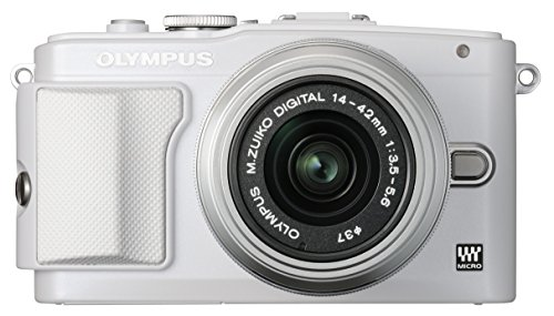 OLYMPUS ミラーレス一眼 PEN Lite E-PL6 レンズキット ホワイト E-PL6 LKIT WHT