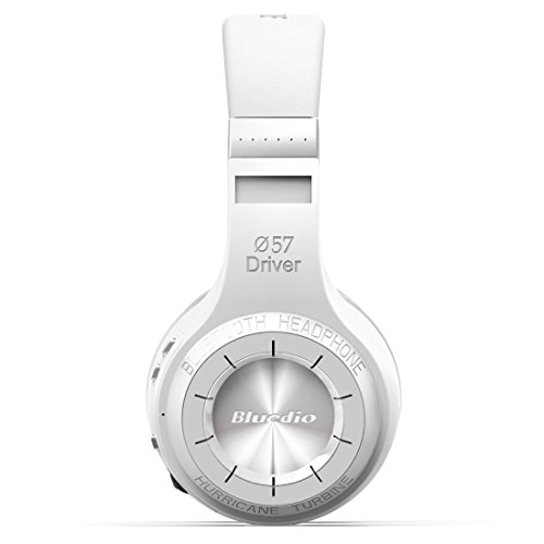 Click to buy Bluedio Ht Shooting Brake Wireless Bluetooth 4.1 Stereo Over Ear Headphone Bulit-in Microphone Micro-sd Music String/fm Radio (white) - From only $53.58
