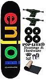Enjoi Black Spectrum 8.0 Skateboard Deck Complete