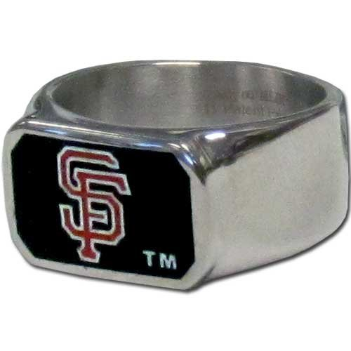 MLB San Francisco Giants Steel Bottle Opener, Ring Size 10 at Amazon.com