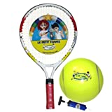 Le Petit Tennis Racquet 17 Inches + TENNIS BALL (Ages 2-3-4)