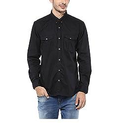 Yepme Men's Black Cotton Shirts - YPMSHRT1116_38