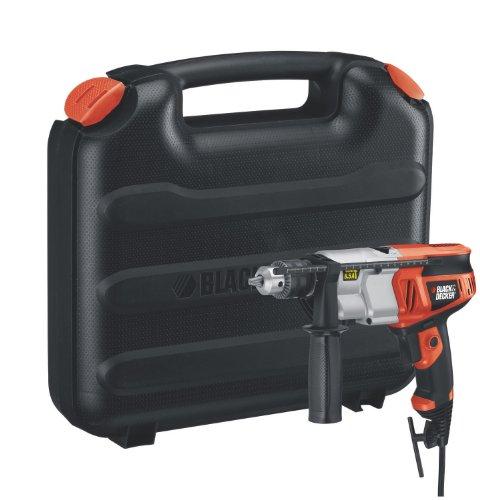 Black & Decker DR650K-CA 1/2-Inch 6.5 Amp Dual Range Hammer Drill with Storage Case