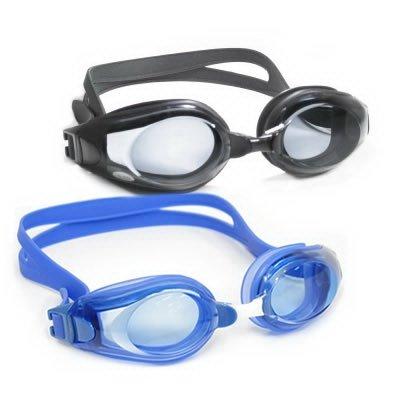 Ultra Comfort Prescription Swimming Goggles – Color: Black – Power: -2.0