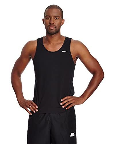Nike Camiseta Tirantes Dri-Fit Fundamental Negro