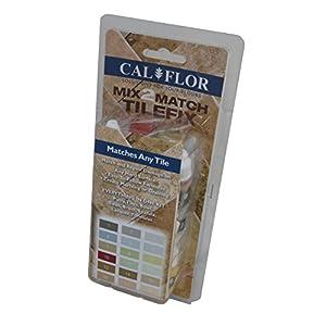 Cal-Flor FL49103CF Tile Fix Mix-2-Match Tile and Stone Repair Kit