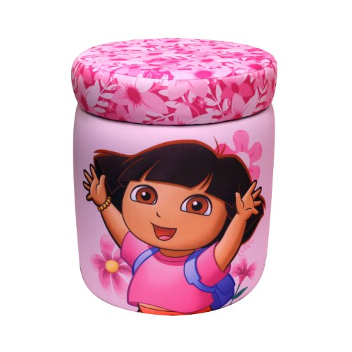 Nickelodeon 16995 Dora Storage Ottoman