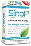 "Sinol ""All Natural"" Allergy & Sinus Nasal Spray (2-Pack)"