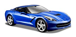 2014 Corvette Stingray [Maisto 31505], Azul, 1:24 Die Cast