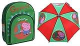 Acuerdo Bundle - Peppa Pig - mochila y paraguas - George Diseño