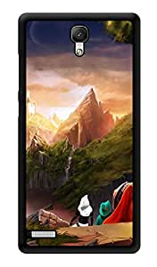 """Humor Gang Far Away Castle Printed Designer Mobile Back Cover For """"Xiaomi Redmi Note - Xiaomi Redmi Note 4G"""" (3D, Glossy, Premium Quality Snap On Case)"""