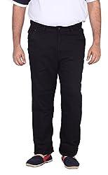 Xmex Men's Soft Denim Jeans (Neo-Crossblue-40, Dark Blue, 40)
