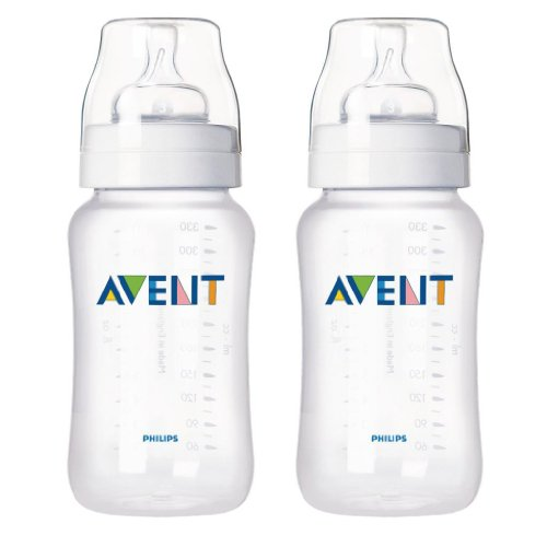 Philips Avent 11 Ounce Bpa-Free Bottle - Set Of 2