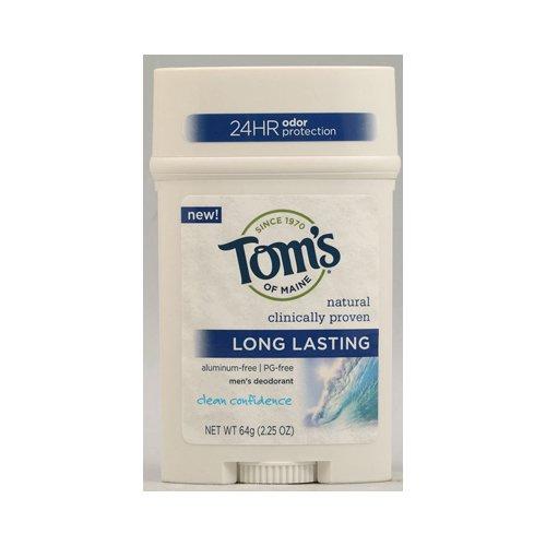 Tom`s Of Maine Long Lasting Stick Clean Confidence Scent (6x2.25 OZ) ( Value Bulk Multi-pack)