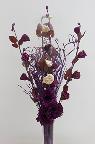 link-products-unique-cream-plum-maize-handmade-flowers-bouquet