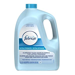 Febreze Fabric Refresher Extra Strength Refill (67.6 Fl Oz), 67.62 Ounce (Pack of 6)