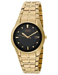 Citizen Men's Eco-Drive Gold-Tone Watch #BM6672-51E