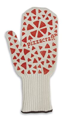 "Pizzacraft PC0407 13"" Pizza Oven Mitt with Silicone Slip Guard"