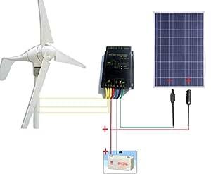 Amazon Com Eco Worthy 12 Volt 500w 500 Watt Wind Solar